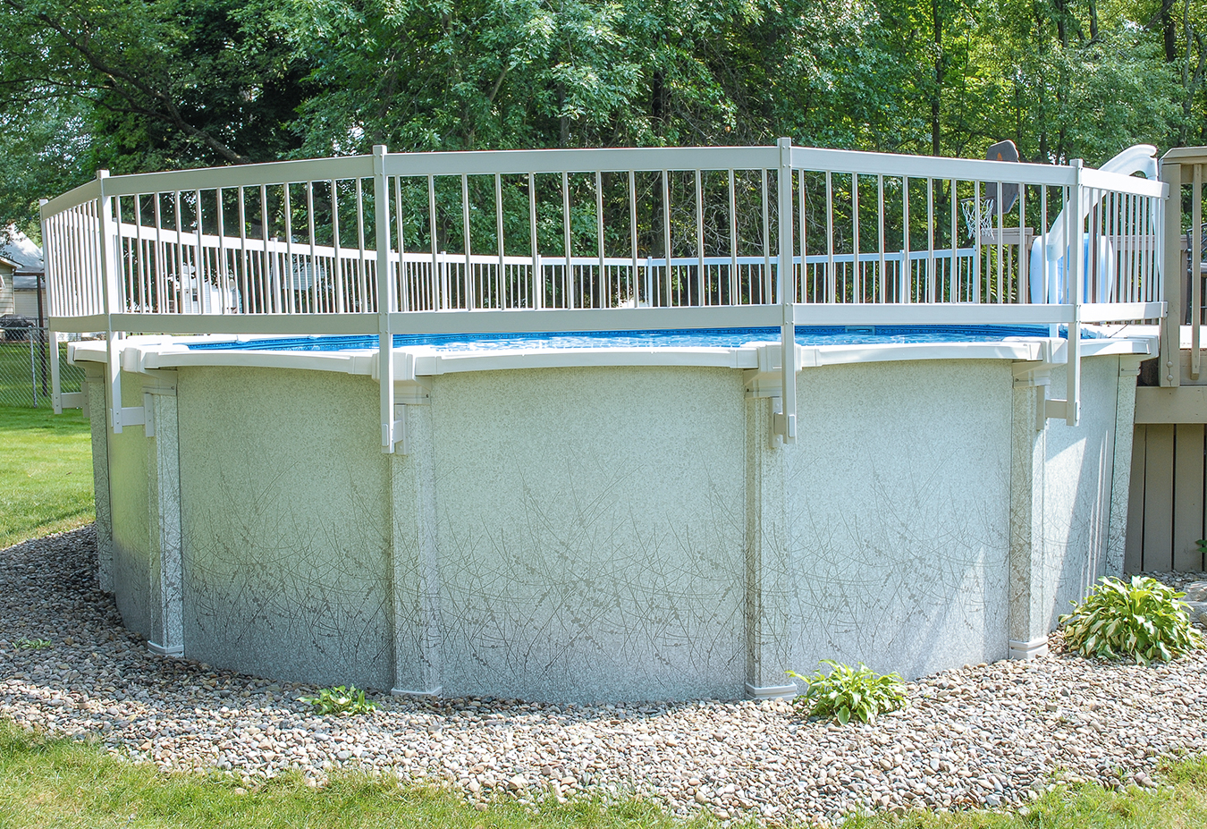 Gli above ground pool fence package section agfence